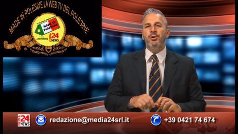 IN DIRETTA DAGLI STUDI DI MEDIA 24 NEWS TELEGIORNALE PADOVA / ROVIGO 17 Giugno 2019